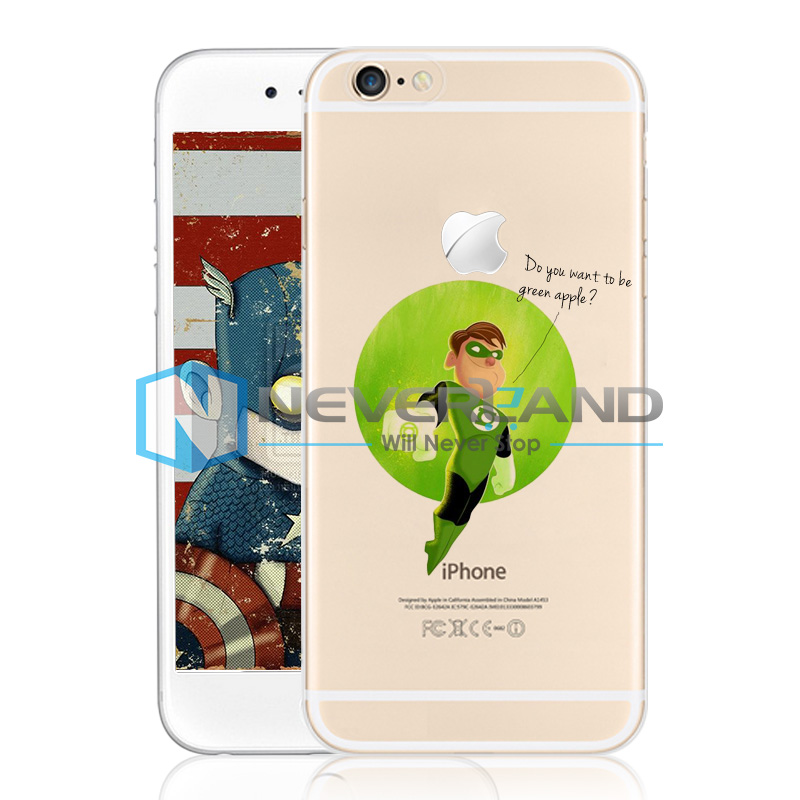 Tpu pc super hero funda de carcasa case cover skin piel para iphone 4 5 6 plus ebay - Funda de piel para iphone 5 ...