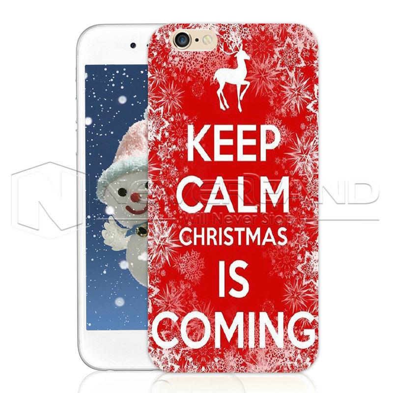 Slogan Christmas tree Snowman Hard Phone Back Case Cover ...