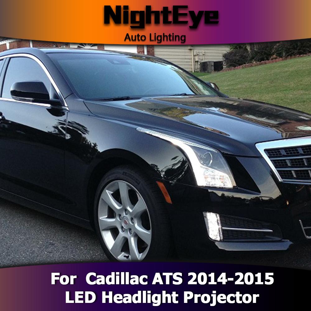 Cadillac Ats Performance Parts >> LED Headlights Projector DRL Fog Light Turn Signal Lamp For Cadillac ATS 2014-15   eBay