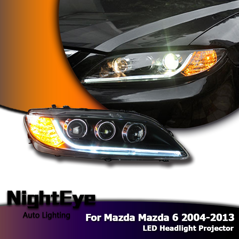 Led Headlights Projector Drl Fog Light With Turn Signal