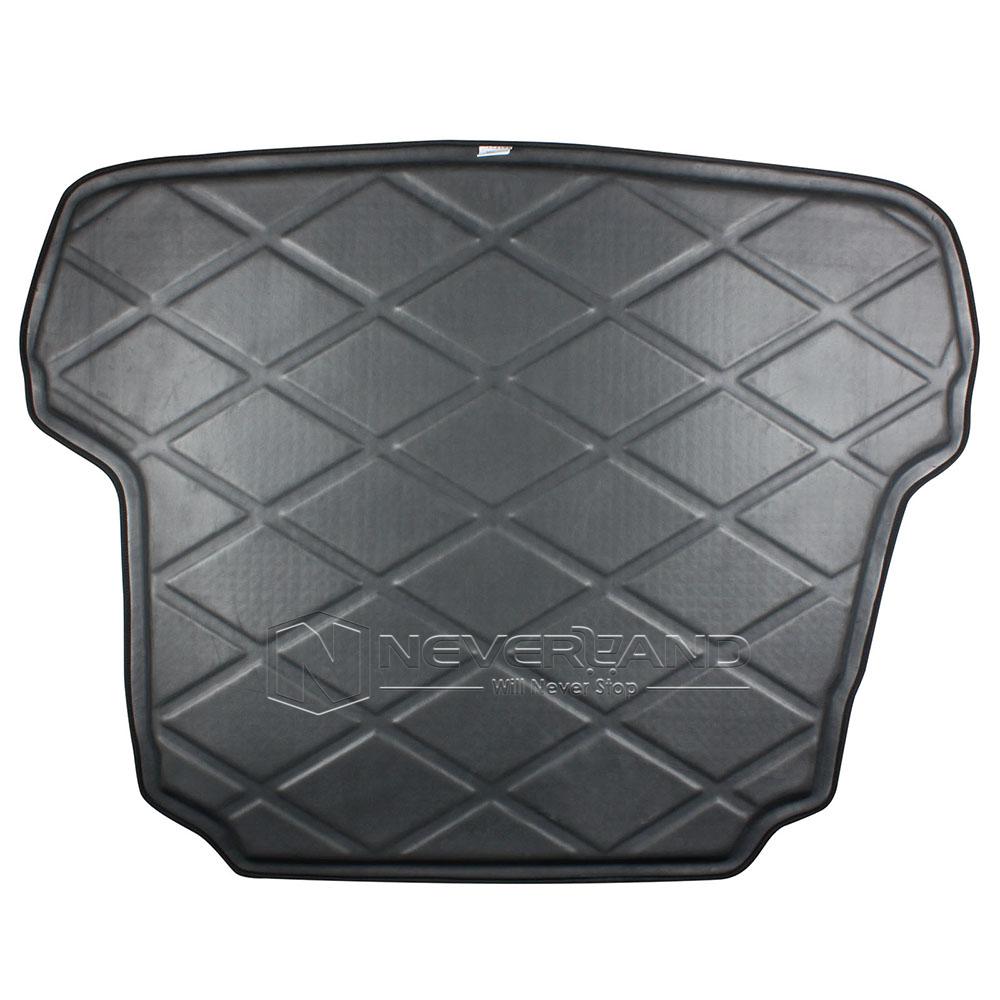 auto rear trunk tray boot liner cargo mat floor for hyundai sonata 2011 2014. Black Bedroom Furniture Sets. Home Design Ideas