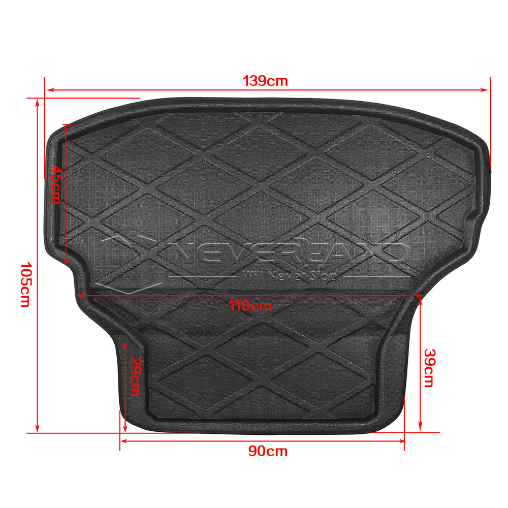 Bmwputer: Rear Trunk Tray Boot Liner Cargo Mat Floor Protector For