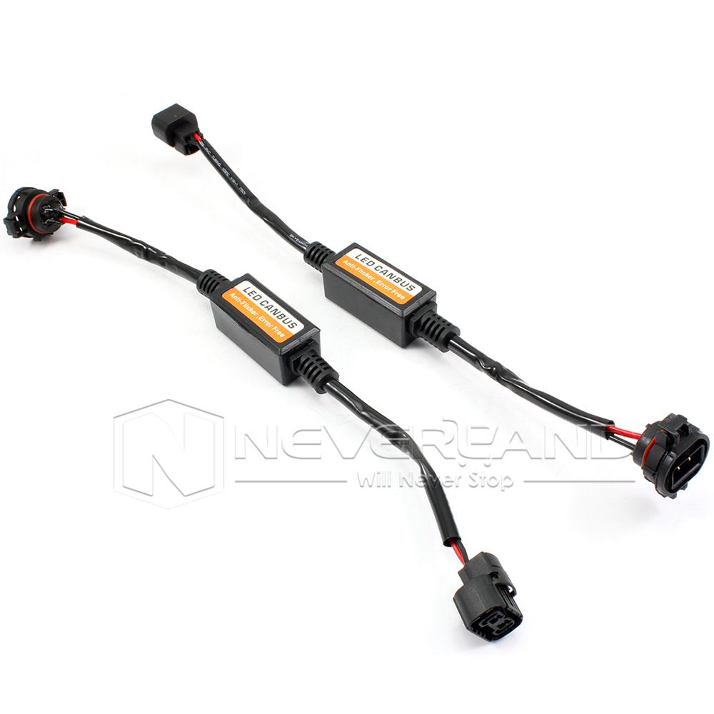 9005 9006 h1 h4 h7 h11 h16 led fog light canbus canceller