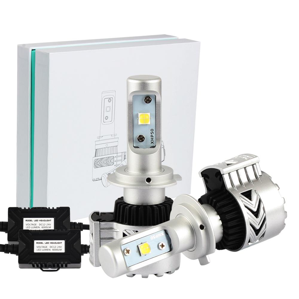 72w 12000lm xhp50 led h7 phare feux headlight light lampe ampoule blanc auto. Black Bedroom Furniture Sets. Home Design Ideas
