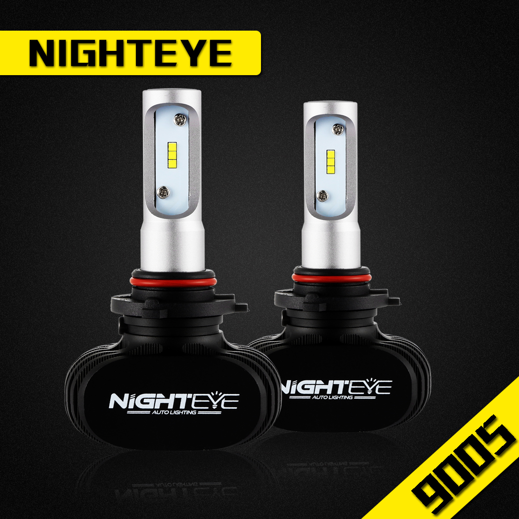 NIGHTEYE 9005 HB3 LED Headlight Kit Driving Light Bulbs 50W 8000LM Super Bright   eBay -> Lampade A Led Mtb