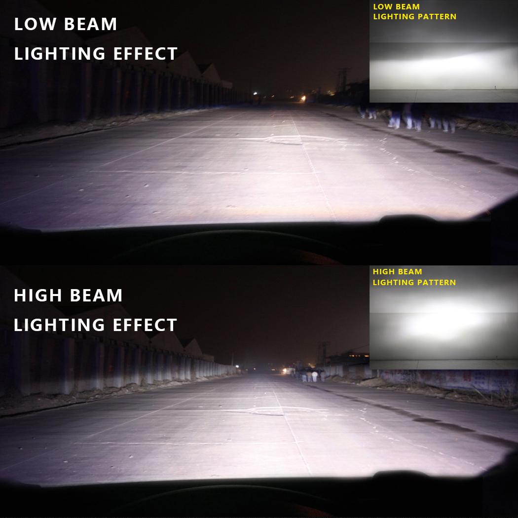 Nighteye 8000lm H11 Car Led Headlight Kit Auto Bulbs Light