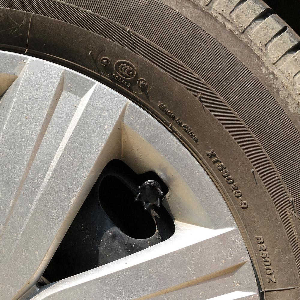 4pcs universal black crown style car tire air valve stems for Ebay motors parts tires