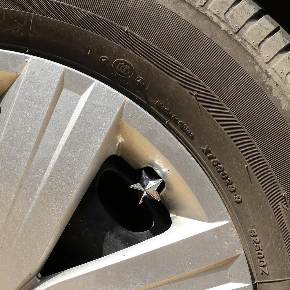 4 x silber sterne reifen ventilkappen kappe deckel for Ebay motors parts tires