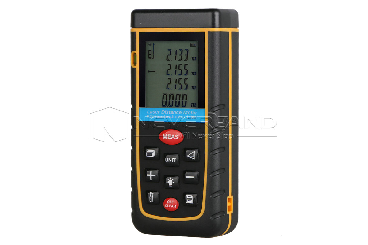 newest 4 style 40m 100m digital handheld laser distance meter finder measure ebay. Black Bedroom Furniture Sets. Home Design Ideas
