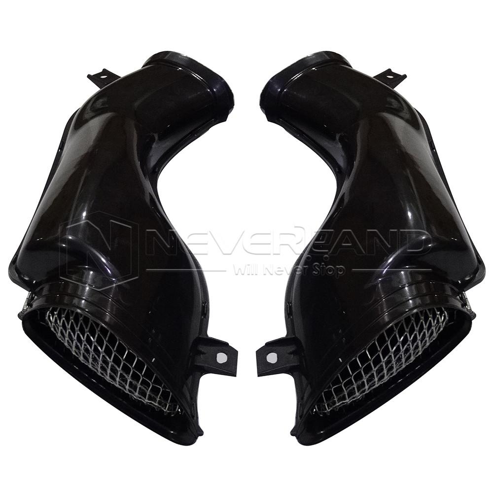 Custom Ram Air Ducts : Air intake tube duct cover fairing for suzuki gsxr