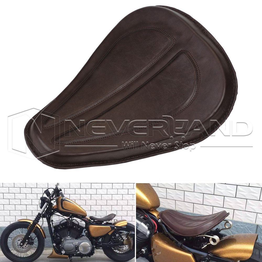 Spring Bike Seat Mini : Motorcycle quot solo seat brackets spring kit fits