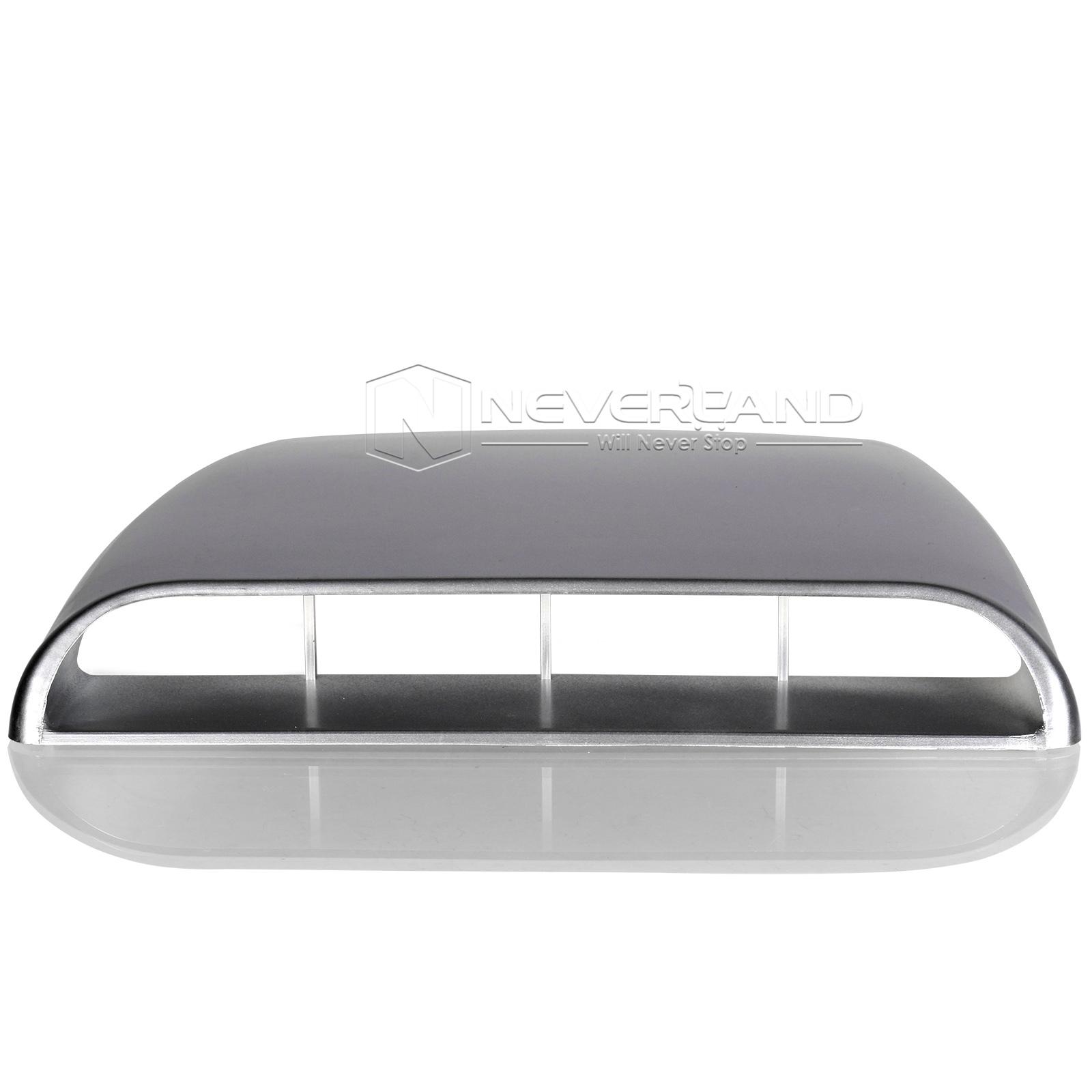 Air Scoops For Cars : Car decorative air flow intake hood scoop vent bonnet