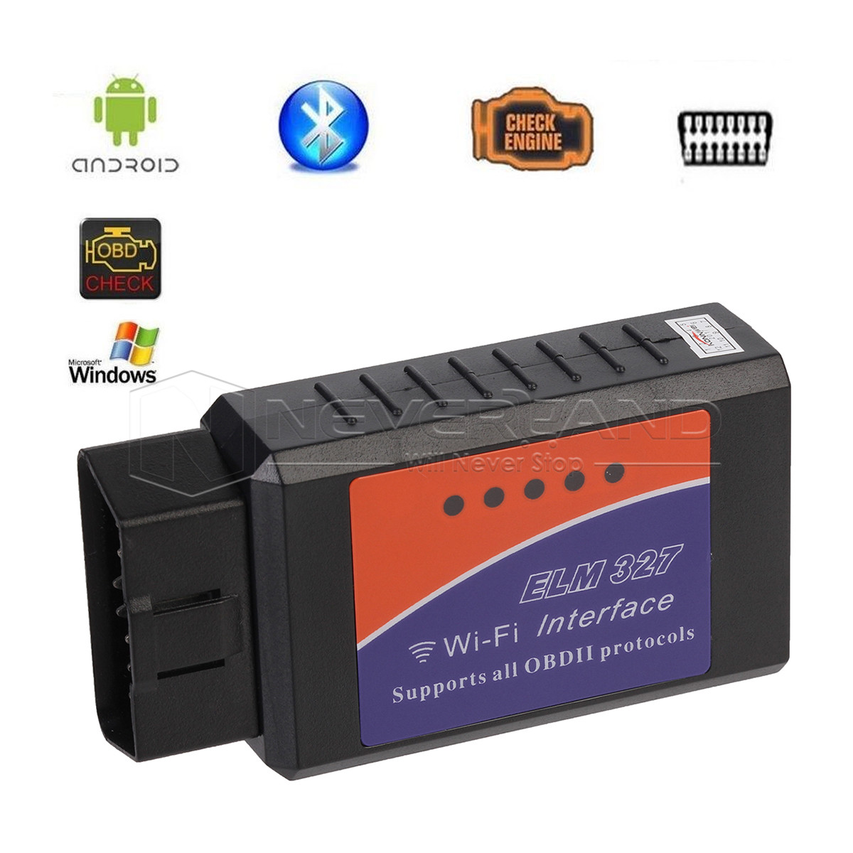 elm327 wifi interface obdii obd2 car scanner code readers diagnostic for android ebay. Black Bedroom Furniture Sets. Home Design Ideas