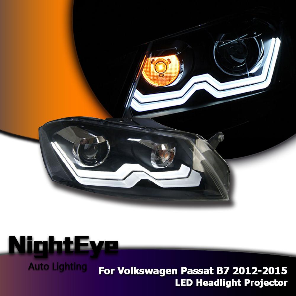 2pcs car led headlights projector headlamp drl fog light. Black Bedroom Furniture Sets. Home Design Ideas