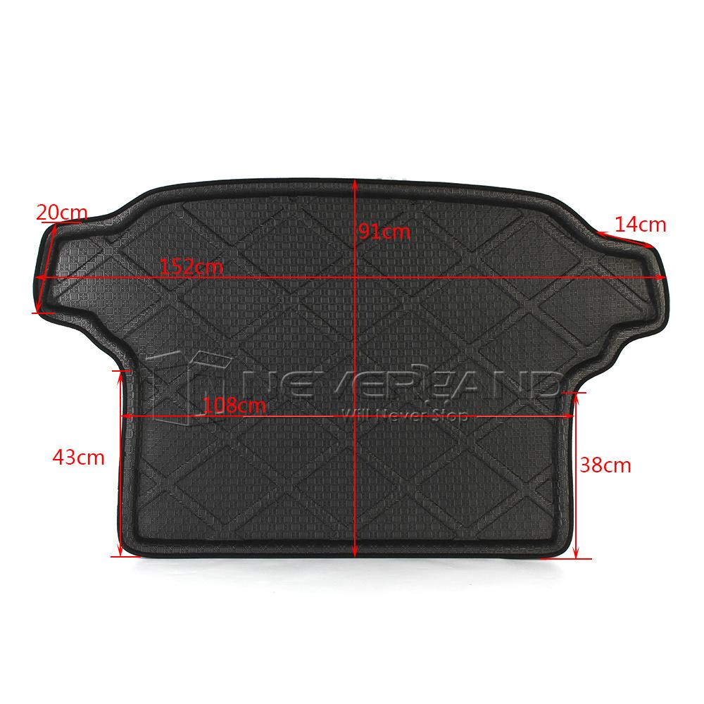 Car Trunk Tray Boot Liner Cargo Mat Floor For Subaru