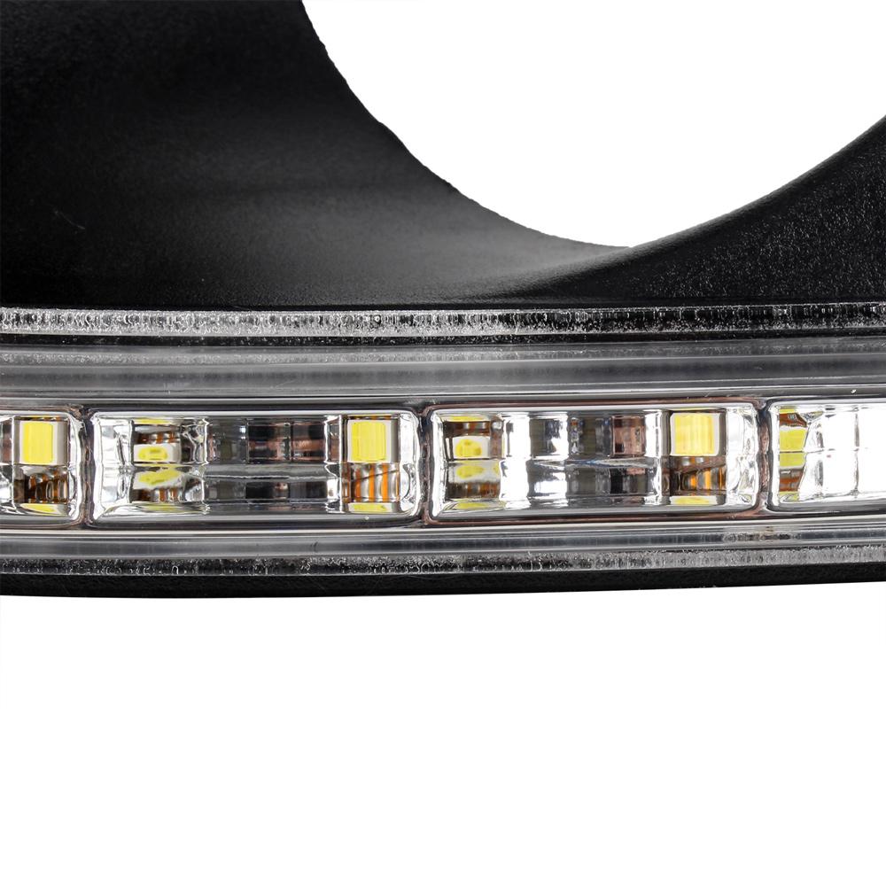 2004 2005 2006 2007 2008 Acura Tl Led Drl Light Strips For: Car DRL LED Daytime Running Light Fog Lamp Fit For