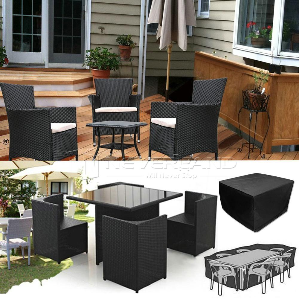 gartenm bel abdeckung sitzgruppe abdeckhaube schutzhaube abdeckplane garnitur ebay. Black Bedroom Furniture Sets. Home Design Ideas
