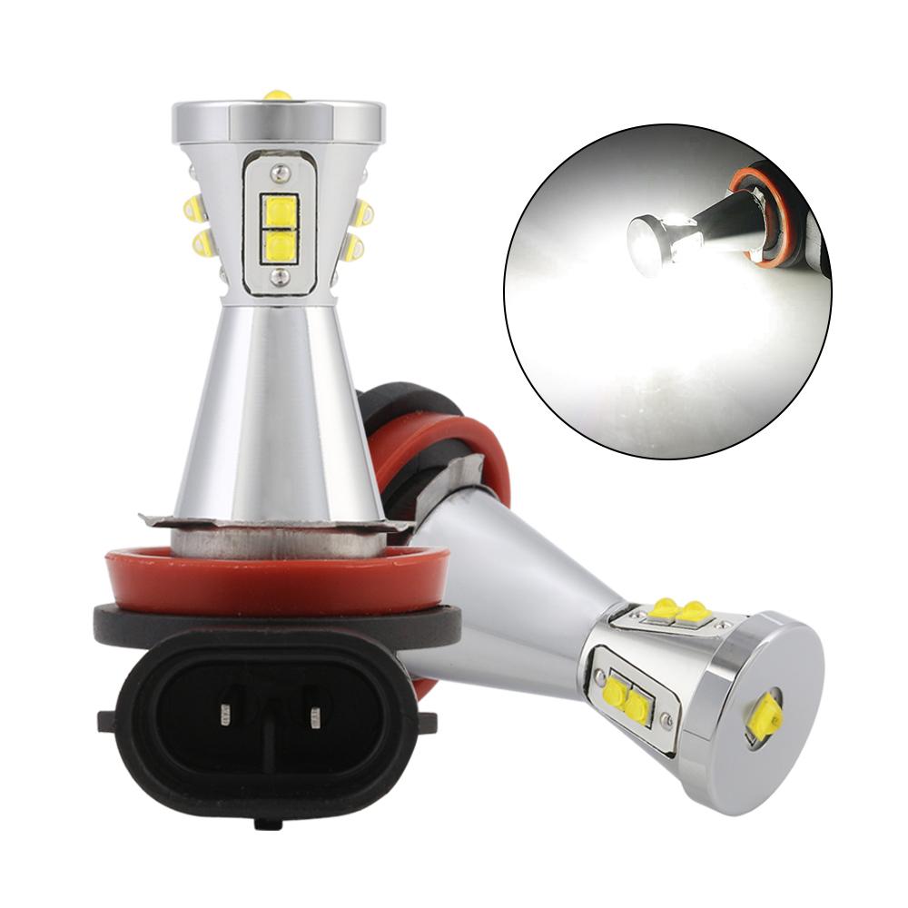 2x h11 90w led ampoule feux anti brouillard lampe drl x non blanc fog light ebay. Black Bedroom Furniture Sets. Home Design Ideas